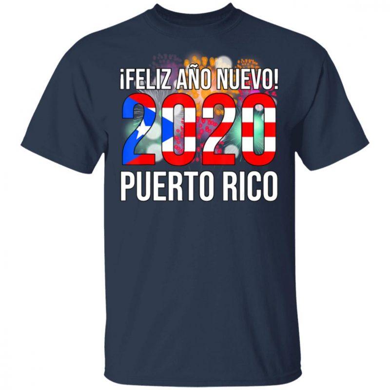 Happy New Year 2020 - iFeliz Ano Nuevo - Puerto Rico Boricua T-Shirt