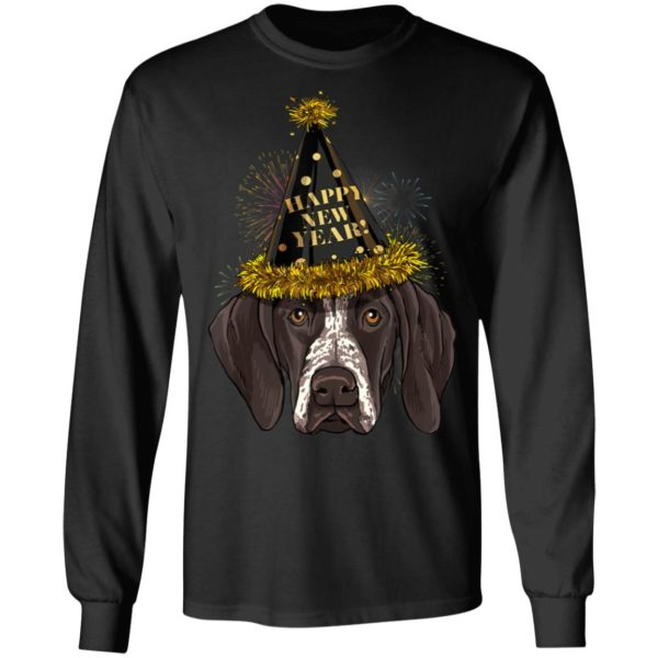 German Shorthaired Pointer Dog Happy New Year 2020