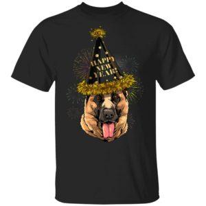 German Shepherd Happy New Year 2020 Dog T-Shirt