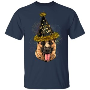 German Shepherd Happy New Year 2020 Dog T-Shirt
