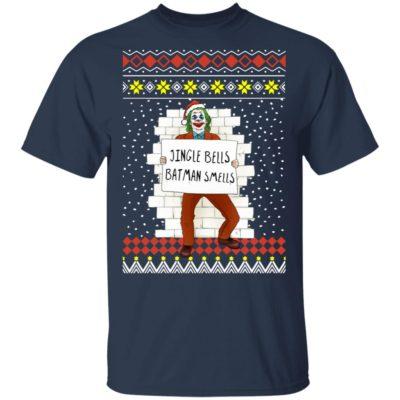 The Joker Jingle Bells Batman Smells Ugly Christmas