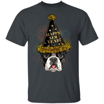 French Bulldog Happy New Year 2020 T-shirt