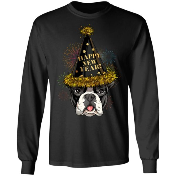 French Bulldog Happy New Year 2020 T-shirt