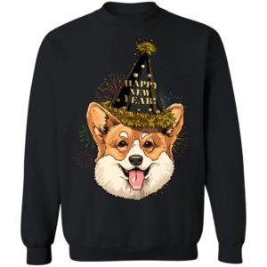 Corgi Happy New Year 2020 Dog New Years Eve Party Shirt
