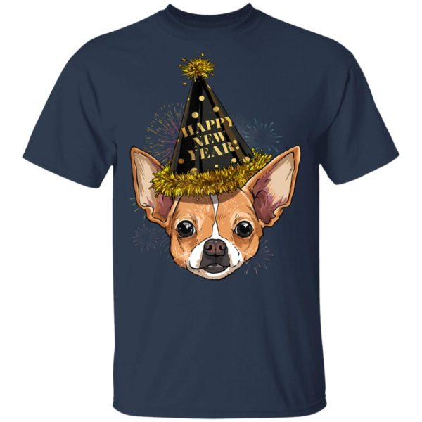 Chihuahua Happy New Year 2020 Dog HPNY Shirt Hoodie Long sleeve