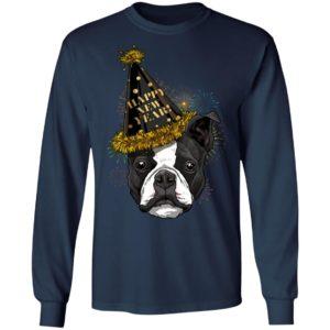 Boston Terrier Happy New Year 2020 Dog HPNY Shirt