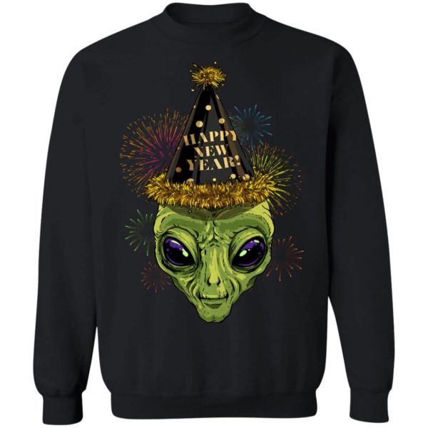 Alien Happy New Year 2020 Shirt Long sleeve Hoodie