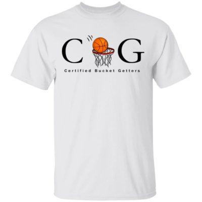 CBG Certified Bucket Getters Ballers basketball Shirt Long Sleeve Hoodie