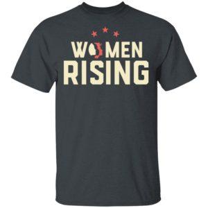 Women March 2020 Women Rising Shirt Long Sleeve Hoodie