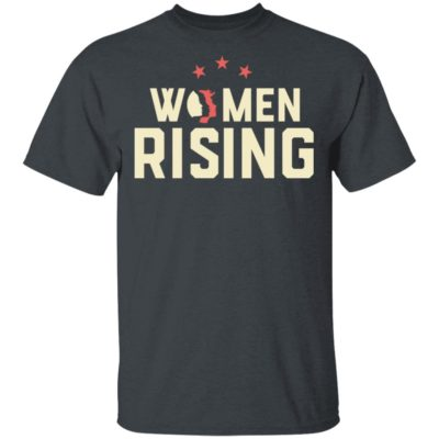 Women March 2020 Women Rising Shirt Long Sleeve Hoodie