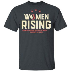 Women March 2020 SANTA MARIA Rising Shirt Long Sleeve Hoodie