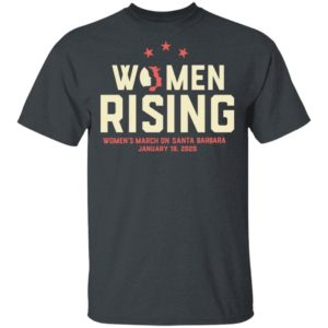 Women March 2020 SANTA BARBARA Rising Shirt Long Sleeve Hoodie