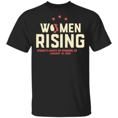 Women March 2020 REDMOND OR Rising Shirt Long Sleeve Hoodie