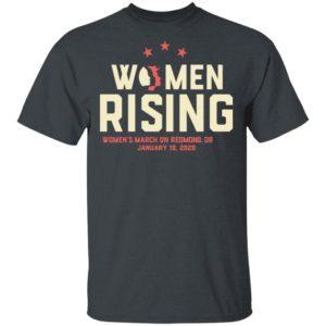 Women March 2020 REDMOND OR Rising Shirt Long Sleeve Hoodie