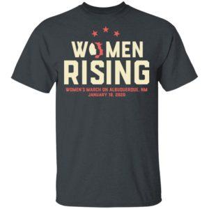 Women March 2020 ALBUQUERQUE NM Rising Shirt Long Sleeve Hoodie