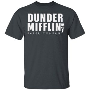 The Office Dunder Mifflin Inc Paper Company Shirt Long Sleeve Hoodie