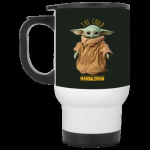 Baby Yoda The Mandalorian The Child Mug, Necklace