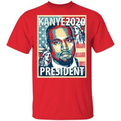Yeezy Kanye for President 2020 Shirt Long Sleeve Hoodie