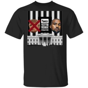 Yeezy For President T-Shirt Long Sleeve Hoodie