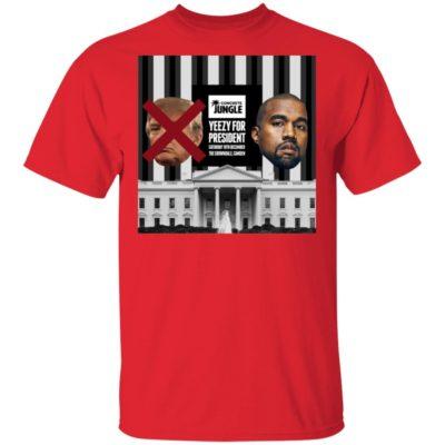 Yeezy For President T-Shirt Long Sleeve Hoodie