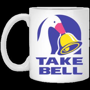 Duck Take Bell Mug, Necklace, Travel Mug