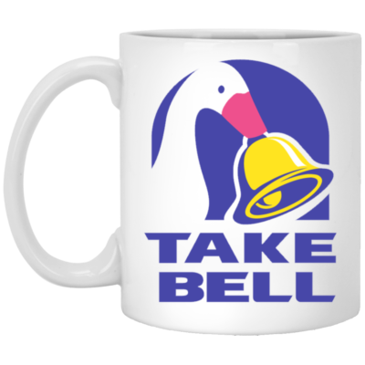 Duck Take Bell Mug, Necklace, Travel Mug