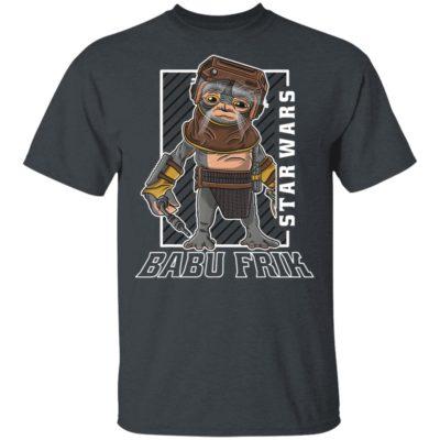 Star Wars Rise Of Skywalker Babu Frik Portrait Shirt