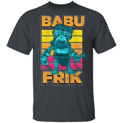 Star Wars Rise Of Skywalker Babu Frik Portrait Pop Art Shirt