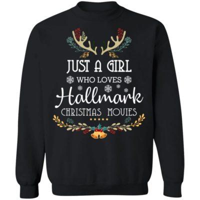 Just a girl who loves Hallmark christmas movies christmas