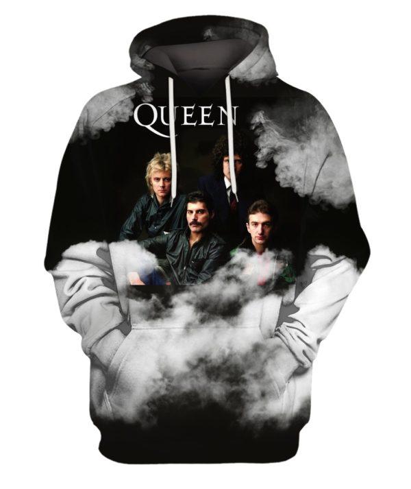 Queen Rock Band 3D Print Hoodie Sweater Shirt