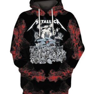 Metallica Rock Band 3D Print Hoodie Sweater Shirt