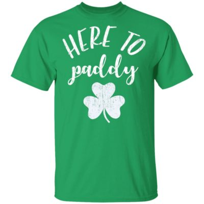 Vintage Here to Paddy Shamrock St. Patrick's Day T-Shirt