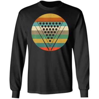 Funny Pool Billiard Shirt - Vintage Retro Pool Shirt Long Sleeve Hoodie
