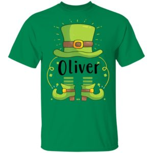Oliver, St. Patrick's day Shirt Raglan Hoodie