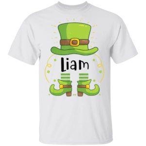 Liam, St Patrick's Day Shirt Raglan Hoodie