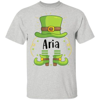 Aria, St Patrick's Day St Patrick's Day Hats T-Shirt Raglan Hoodie