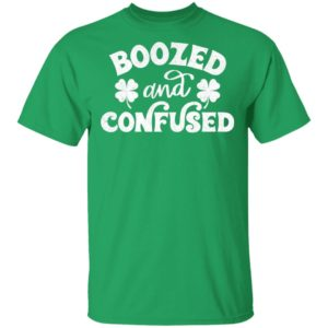Confused And Boozed Saint Patrick's Day Shamrock Shirt