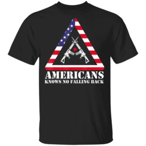 Abstract Americans Knows No Falling Back Shirt Long Sleeve Hoodie