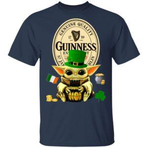 Baby Yoda Hug Guinness Special Export Beer St Patrick's Day Shirt Raglan Hoodie