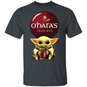 Baby Yoda Hug O'Hara's Irish Red Beer Shirt Long Sleeve Hoodie