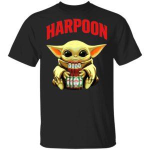 Baby Yoda Hug Harpoon Celtic Ale Beer Shirt Long Sleeve Hoodie