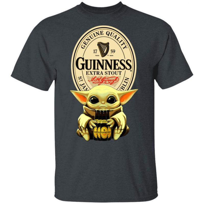 Baby Yoda Hug Guinness Special Export Beer Shirt Long Sleeve Hoodie