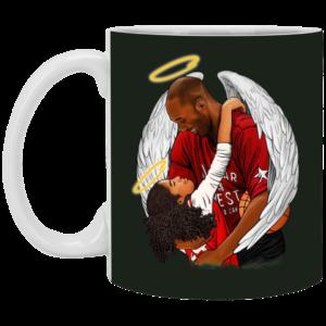 Rip Gianna Bryant et Kobe Bryant Mug, Necklace
