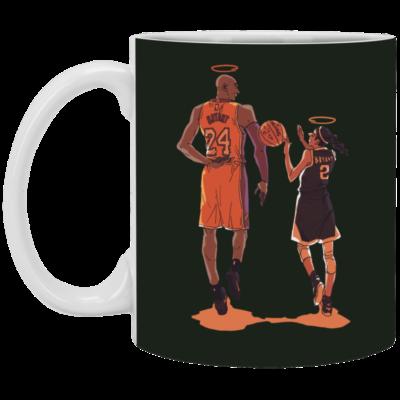 Histoire Kobe et Gigi Mug, Necklace