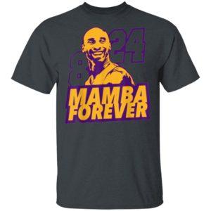 Kobe Bryant Number 8 24 Mamba Forever Shirt Long Sleeve Hoodie