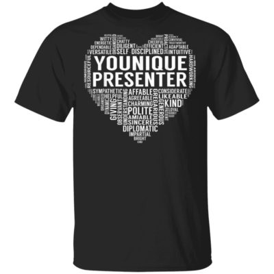 Younique Presenter Heart T-Shirt Long Sleeve Hoodie