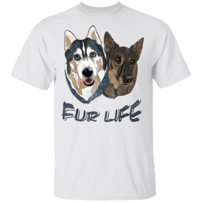 Dogs Fur Life Shirt Long Sleeve Hoodie