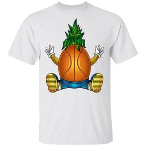 Basketball Pineapple Shoot Athlete Shirt Long Sleeve Hoodie