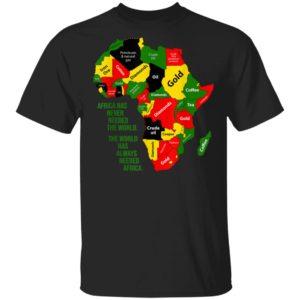 Africa Love American African Pride Black History Month T-Shirt Long Sleeve Hoodie
