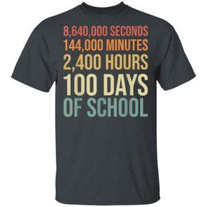 100th day preschool kids teacher 100 days of school shirt